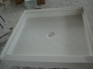 ... Shower Pans With Materials Of Acrylic, Cultured Marble, Compressed  Fiberglass Or Stone. Please Just Let Us Know Your Project Specifications,  ...